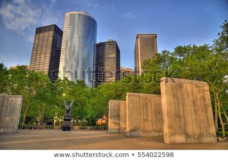 batterie · parc · monde · guerre · New · York · City · USA - photo stock © ErickN