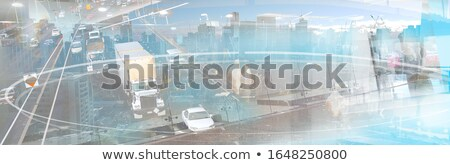 abstract business collage stock photo © lizard
