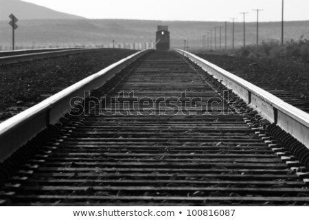 railway along the Route 66  Stock photo © meinzahn