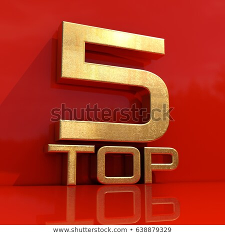Quality Score - Gold 3d Words Photo stock © Supertrooper