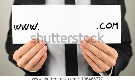 What is your com internet domain Stock photo © stevanovicigor
