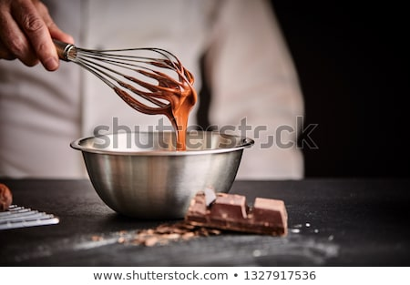 Stainless steel whisk Stock photo © fotogal