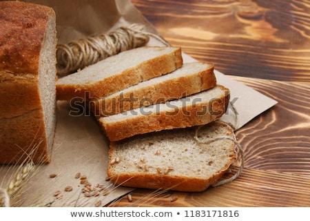 Pan pan cosecha Foto colgante pared Foto stock © marimorena