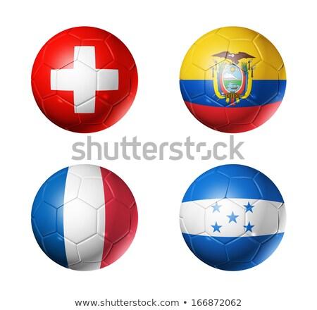 Brasil · futebol · mapa · esportes · jogo · ícones - foto stock © jelen80
