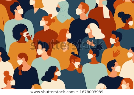 crowd pattern stock photo © aiel