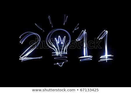 2011 in bulb Stock photo © marinini