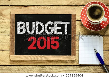 Budget 2015 Stock photo © ivelin