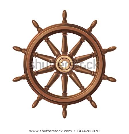 pirata · buque · volante · ilustración · diseno · vela - foto stock © dazdraperma