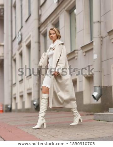 fotoğraf · seksi · sarışın · kadın · bacaklar - stok fotoğraf © neonshot