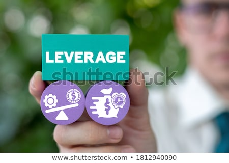 Időbeosztás viselet emelő irányítás fekete közelkép Stock fotó © tashatuvango