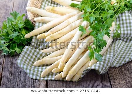 bundle green and white asparagus Stock photo © Rob_Stark