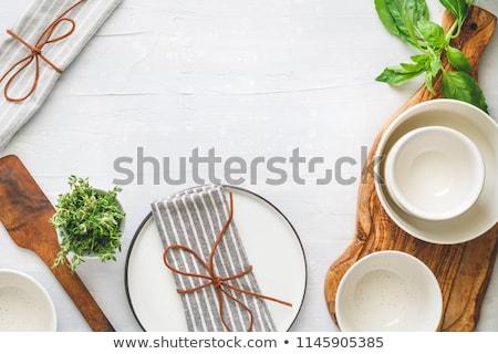 Cozinha ferramentas isolado branco metal Foto stock © gavran333