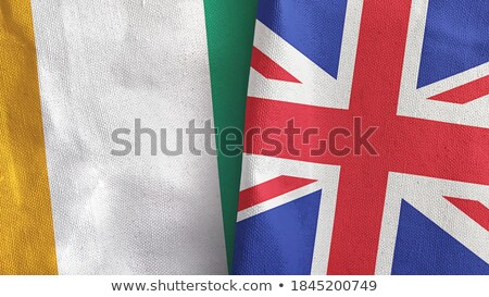 United Kingdom and Cote Divoire Flags Stock photo © Istanbul2009