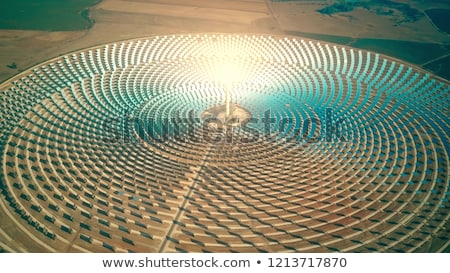 solar power plant Stock photo © Li-Bro