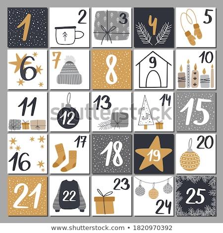 calendário · número · dia · mês · semana · negócio - foto stock © mayboro1964
