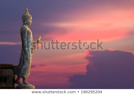 Buddha statue thai temple Thaïlande art Photo stock © Mariusz_Prusaczyk