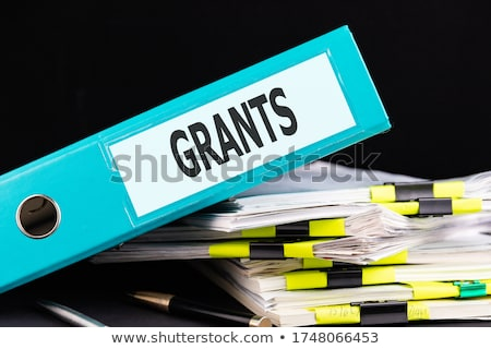 file folder labeled as scholarship stock photo © tashatuvango