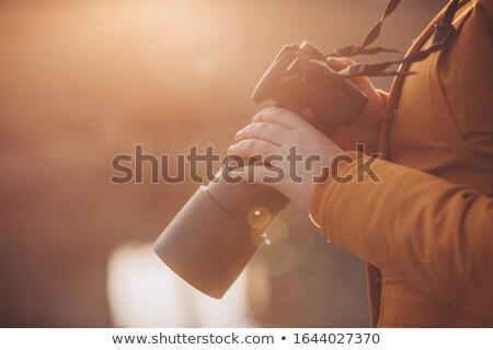 fotograf · Fotografia · młodych · mężczyzna · kamery - zdjęcia stock © deandrobot