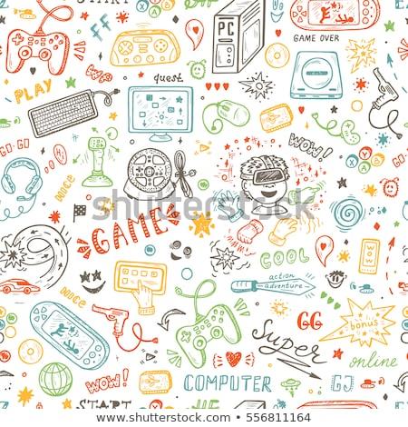 Stockfoto: Vector · elektronische · gadgets