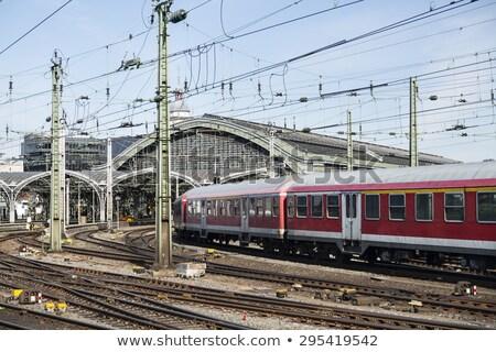 Kilátás parfüm központi állomás öreg utazás Stock fotó © meinzahn
