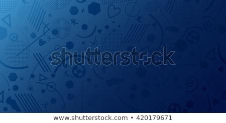 Ucrânia · bandeira · conjunto · futebol · isolado · branco - foto stock © nezezon