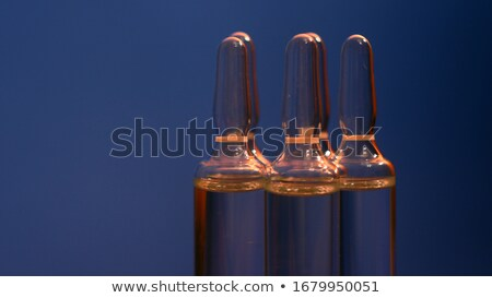 A laboratory ampule Stock photo © bluering
