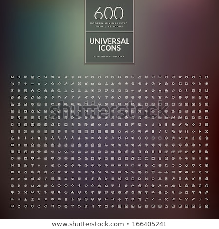ingesteld · iconen · fast · food · zwarte · silhouet · geïsoleerd - stockfoto © marysan