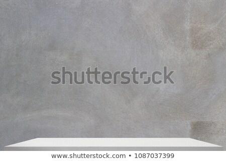 Półki szary wektora łatwe biuro ściany Zdjęcia stock © m_pavlov