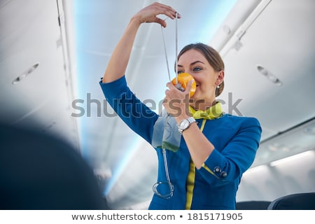 A head of a flight attendant Stock photo © bluering