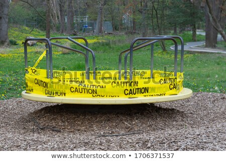 A green merry-go-round Stock photo © bluering