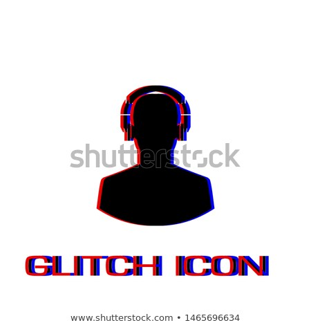 hombre · escuchar · música · auriculares · casual · casa - foto stock © stevanovicigor