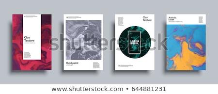 黒 暗い インク 塗料 ベクトル デザイン ストックフォト © SArts