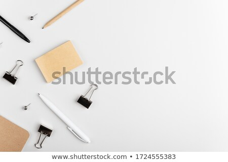 Pinned Notes - Side view Stock photo © Spectral
