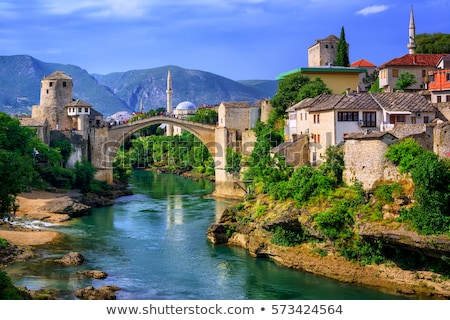 Famous Old Bridge in Mostar Stock photo © Dreamframer