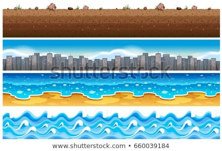 pad · achtergrond · gebouwen · stedelijke · architectuur - stockfoto © bluering