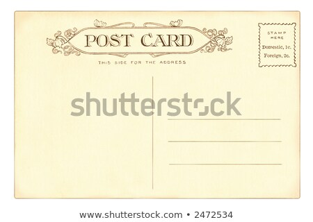 Vintage postcard of 1903 Stock photo © Hofmeester