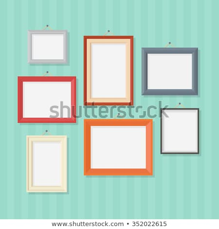 фото · кадры · стиль · простой · вектора · стены - Сток-фото © biv
