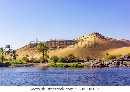 エジプト · 川 · ルクソール · ボート · 船 · アフリカ - ストックフォト © pakhnyushchyy