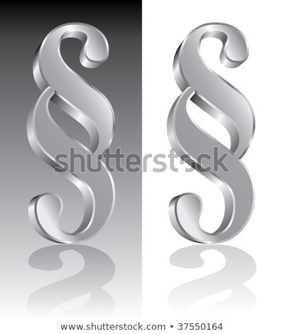 3d metal paragraph stock photo © m_pavlov