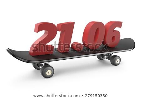 21 june Go Skateboarding Day Stock photo © Olena