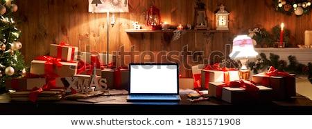 delivery time concept on laptop screen stock photo © tashatuvango