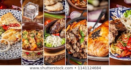 concept  national cuisines Stock photo © Olena