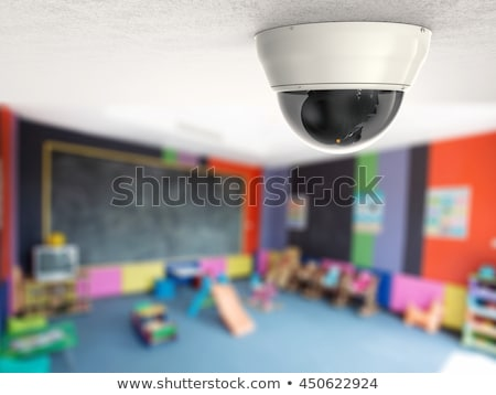 Security Camera. Secure Facility. Stock photo © vectorworks51