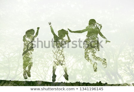 Stock photo: concept of child protection