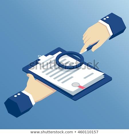 Legal Documents - Text on Clipboard. 3D. Stock photo © tashatuvango