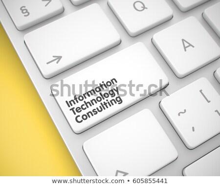 情報技術 監査 キーボード キー 3D クローズアップ ストックフォト © tashatuvango
