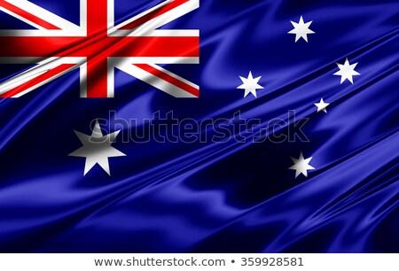 オーストラリア · フラグ · グランジ · オーストラリア人 · 画像 · 詳しい - ストックフォト © romvo