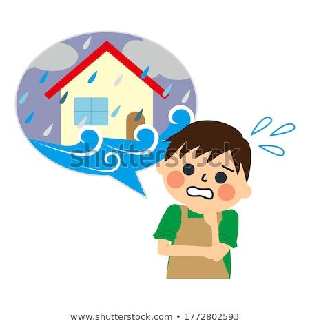 Ház adósság otthoni pénzügyek kredit problémák kihívás Stock fotó © Lightsource