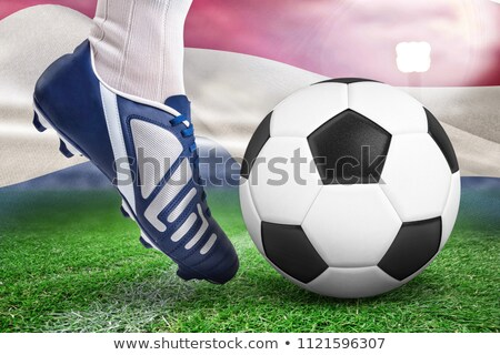 Bola digitalmente gerado Foto stock © wavebreak_media