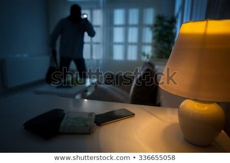 Stock fotó: Betörő · férfi · szett · különböző · kommunikáció · táska